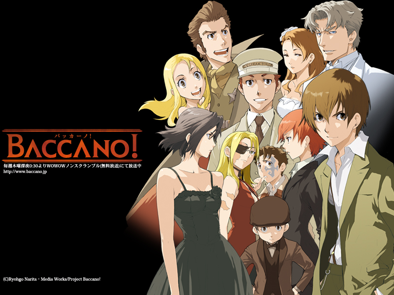 Baccano cover wallpaper