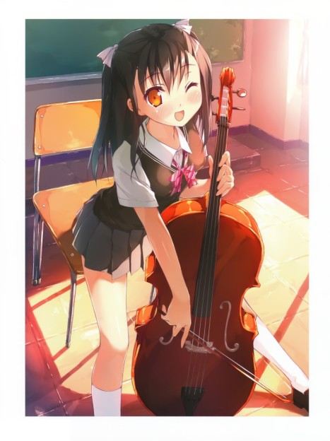 I'd play her cello anytime
